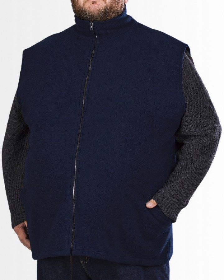 Big Men Certified kamizelka polarowa 3XL 4XL 5XL 6XL 7XL 8XL