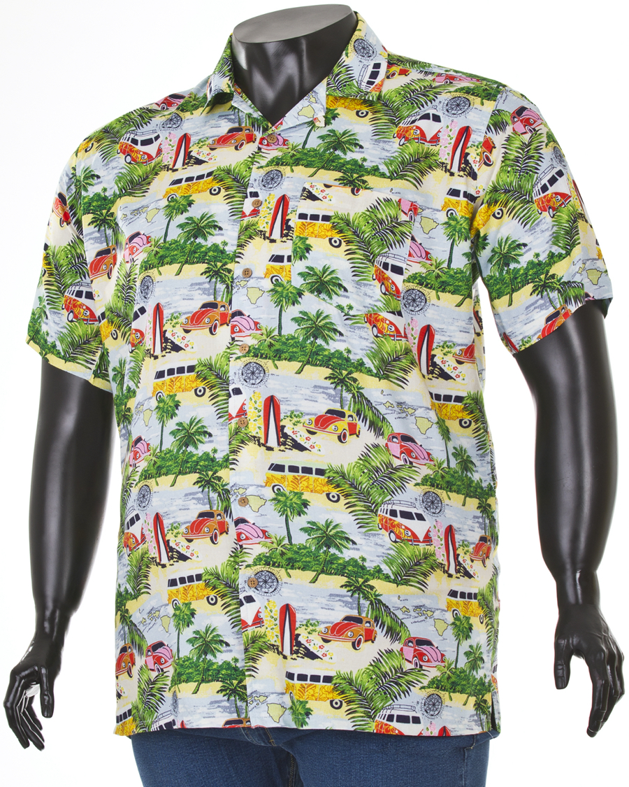koszula męska w kratę