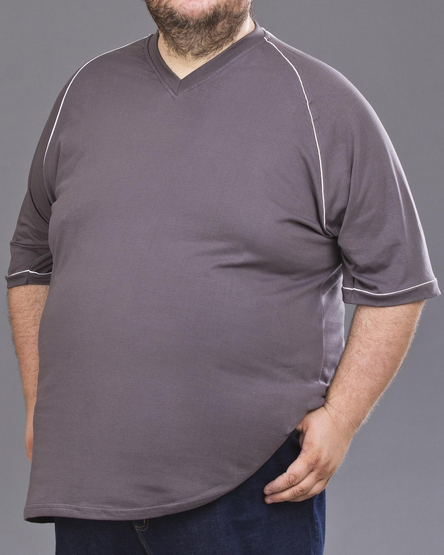 czarny t-shirt w dużym rozmiarze
